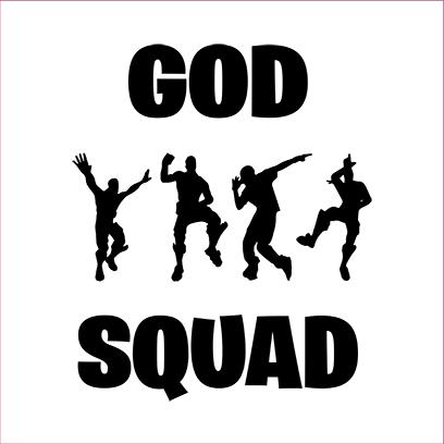 god squad white square