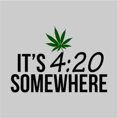 its 420 somewhere grey square