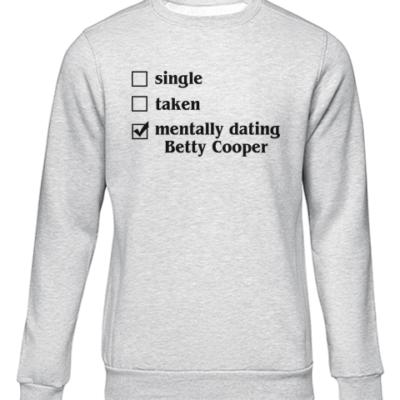 mentally dating betty grey sweater