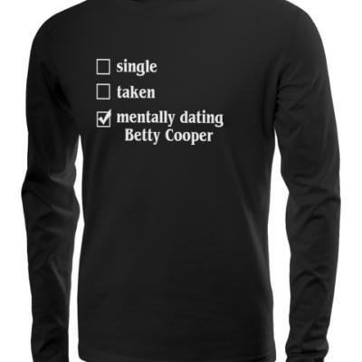 mentally dating betty long sleeve black