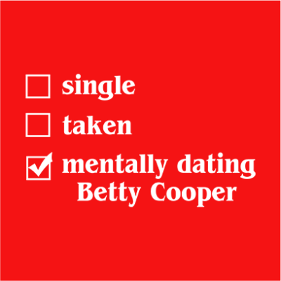 mentally dating betty red square
