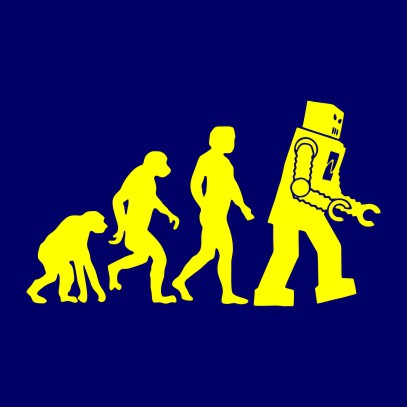 robot evolution navy