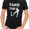 take the L mens tshirt black