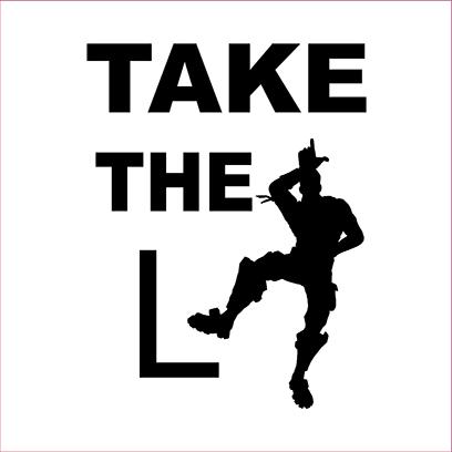 take the L white square