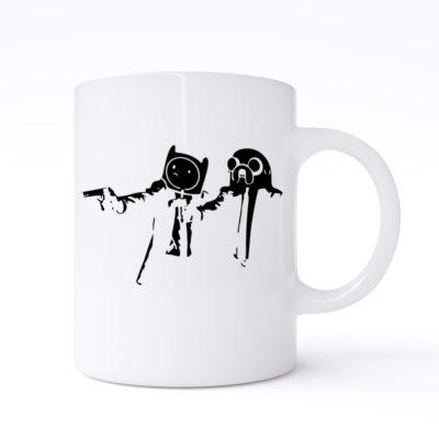 pulp fiction adventure mugs