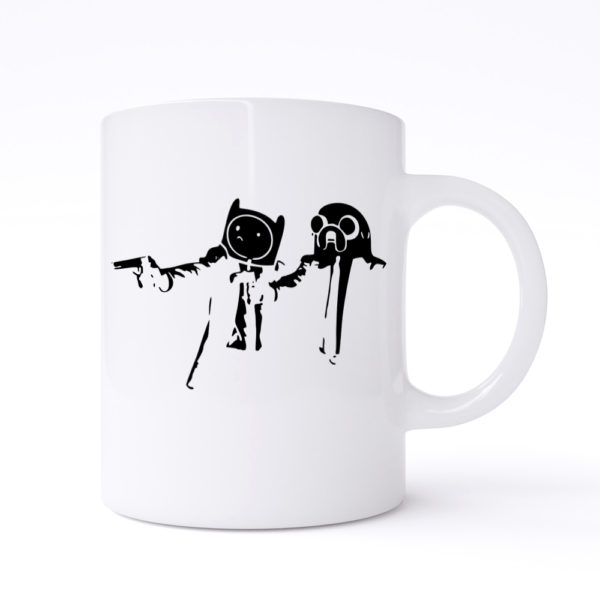pulp fiction adventure mugs