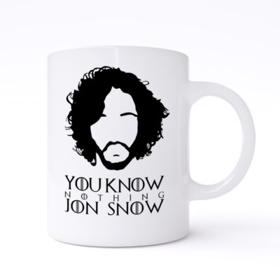 You KNow Nothing Mugs