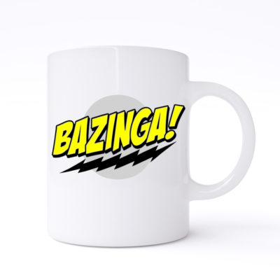 bazinga mugs
