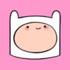 Adventure-Time-Finn-light-pink