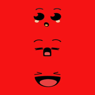 Anime-faces-red