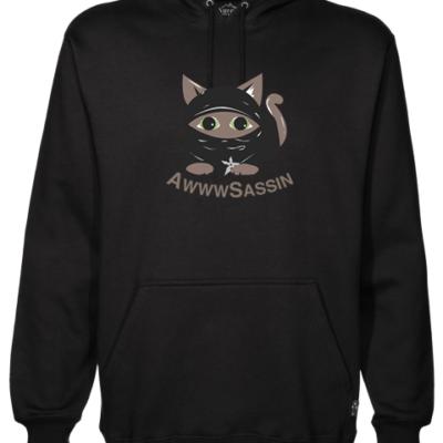 AwwwSassin Black Hoodie