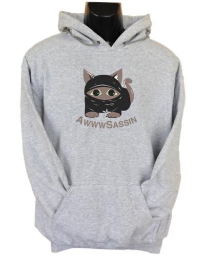 AwwwSassin Grey Hoodie