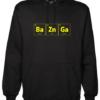 BaZnGa Black Hoodie