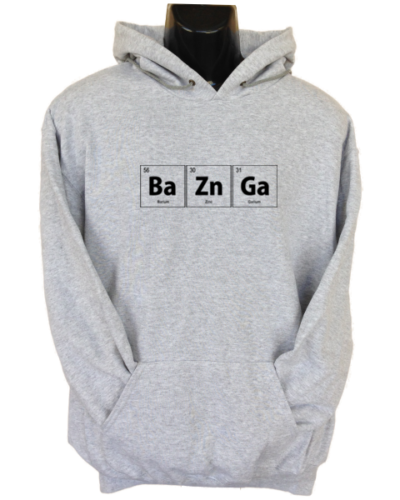 BaZnGa Grey Hoodie