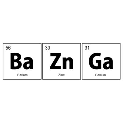 BaZnGa-white