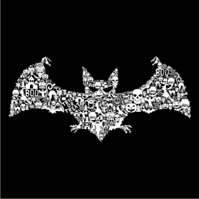 Bat-Collage-Black