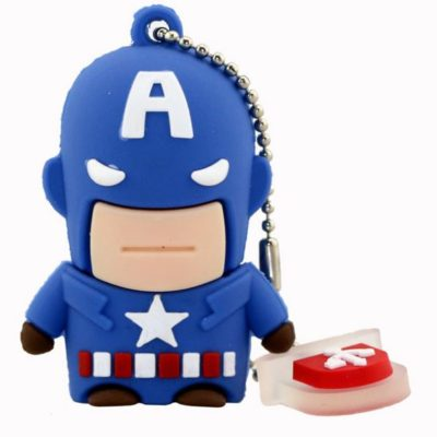 Captain America 8GB USB Flash Drive 01
