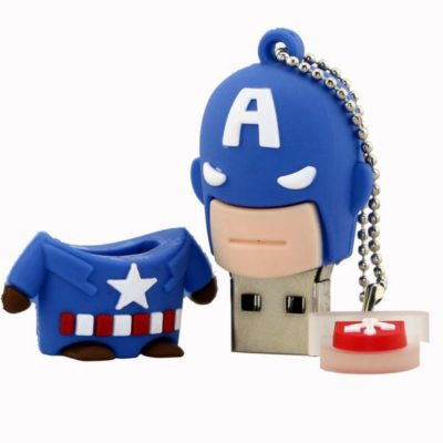 Captain America 8GB USB Flash Drive 02