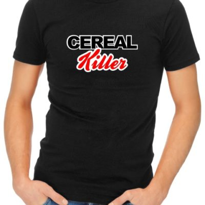 Cereal Killer Mens Black