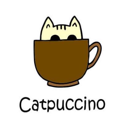 Catpuccino-white