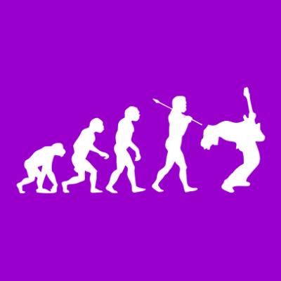 Evolution-purple