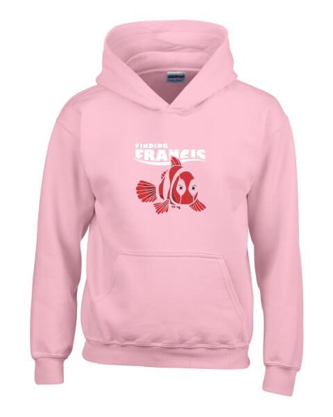 Finding-Francis-ladies-hoodie