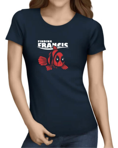 Finding-Francis-ladies-short-sleeve-shirt