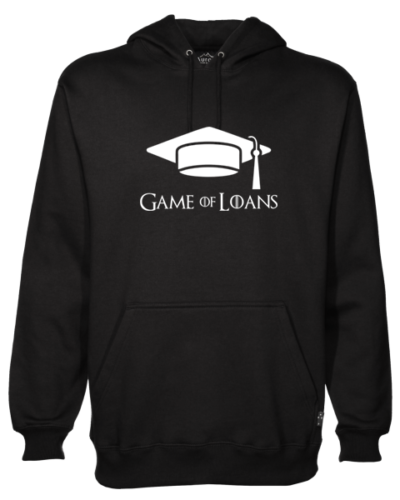 Game of Loans Black Hoodie