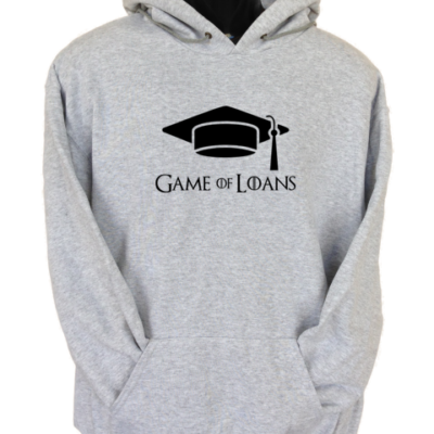 Game of Loans Grey Hoodie