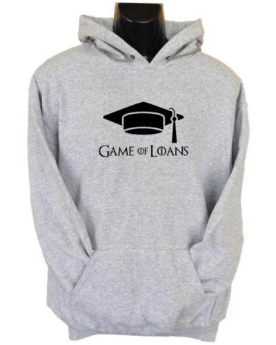 Game of Loans Grey Hoodie