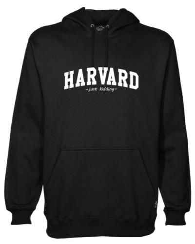 Harvard Black Hoodie