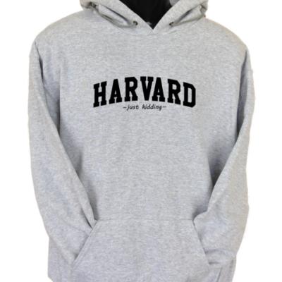 Harvard Grey Hoodie