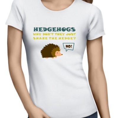 Hedgehogs Ladies White