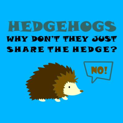 Hedgehogs-azure-blue