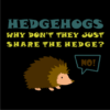 Hedgehogs-black1