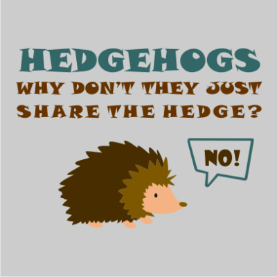 Hedgehogs-grey