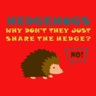 Hedgehogs-red