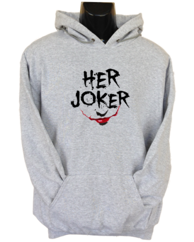 Her Joker Grey Hoodie