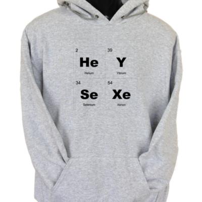 HeySexe Grey Hoodie