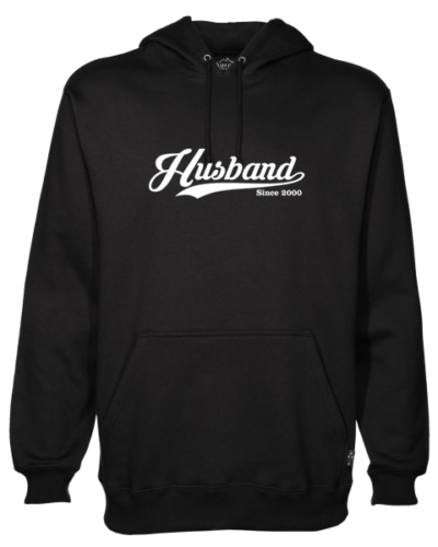 Husband Since Black Hoodie