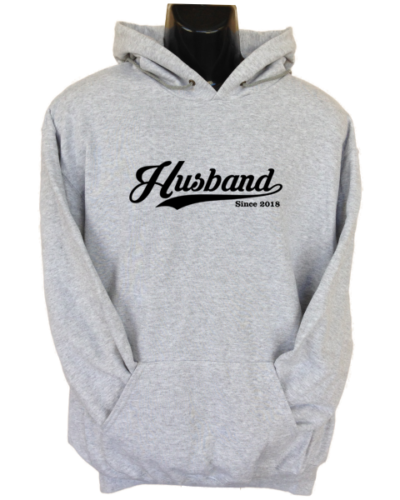 Husband Since Grey Hoodie