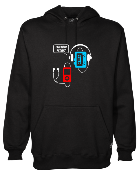 I Am Your Father Black Hoodie
