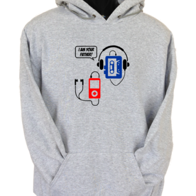 I Am Your Father Grey Hoodie