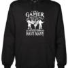 I_m a Gamer Black Hoodie