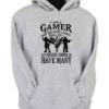 I_m a Gamer Grey Hoodie
