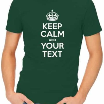 Keep-Calm-Mens-Bottle-Green-Shirt
