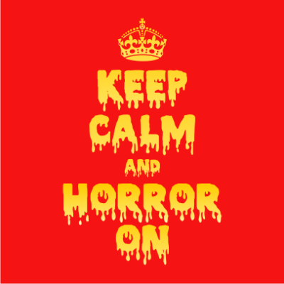 Keep-Calm-and-Horror-On-Red