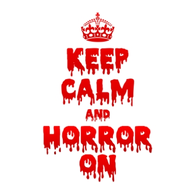 Keep-Calm-and-Horror-On-White