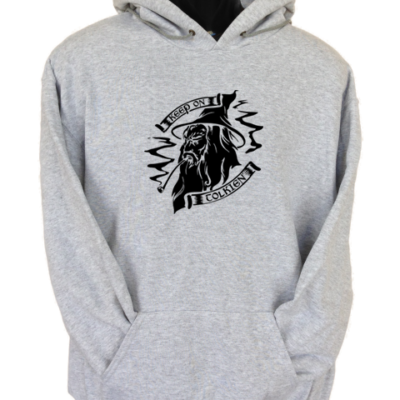 Keep on Tolkien Grey Hoodie