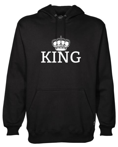 King Black Hoodie